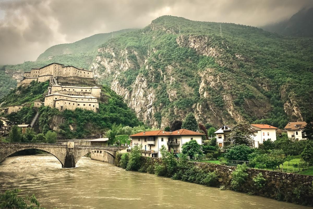 Forte di Bard, Valle d'Aosta, Italia