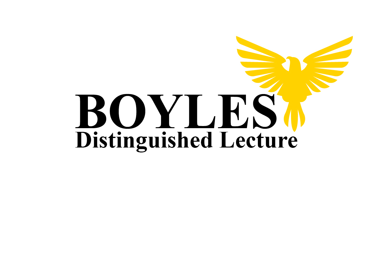 Harlan E. Boyles Distinguished Lecture Series