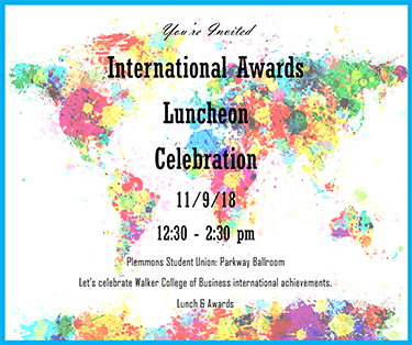 International Awards Banquet 2018