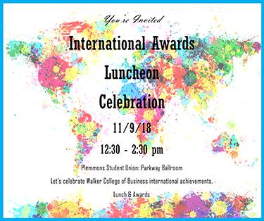 International Awards Banquet 2018