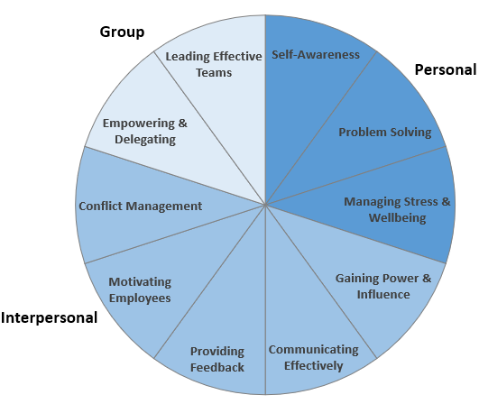 Wheel of Management Courses