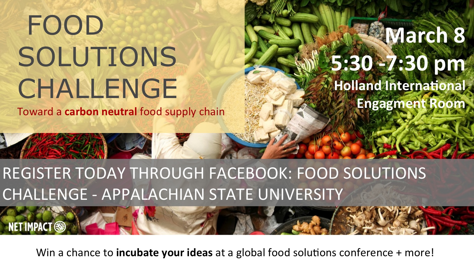 Food Solutions Challenge to be held March 8 | Walker College of Business