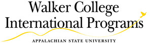 Walker College International Programs logo