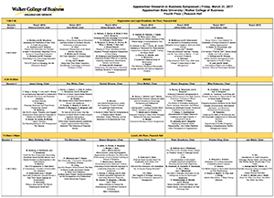 1-page Schedule