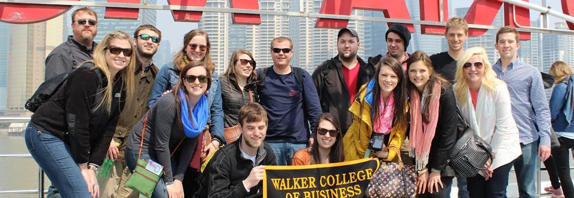 Appalachian State University Business Students