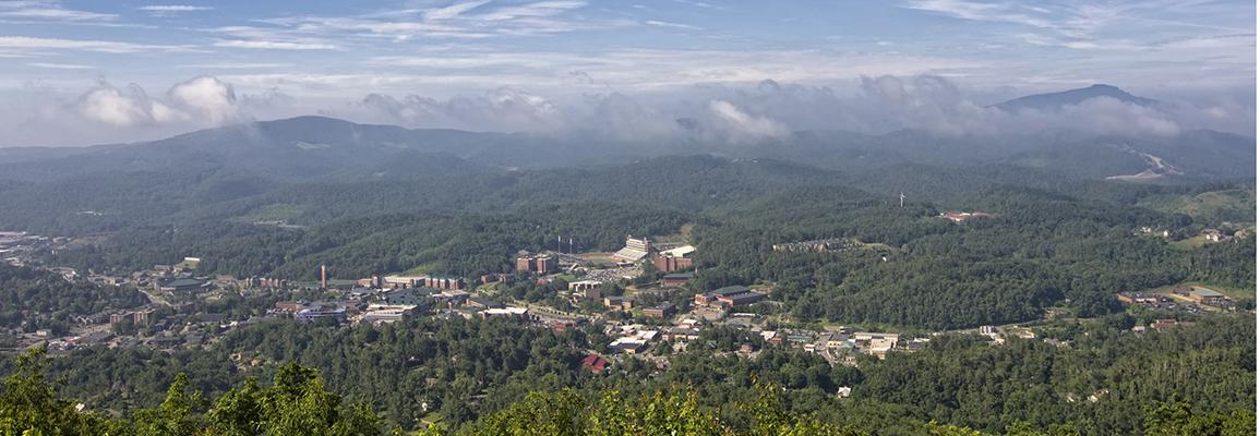 View of Appalachian State University Campus