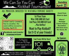 Project management students help coordinate kickball tournament
