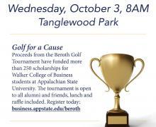 Beroth Golf Tournament Invitation