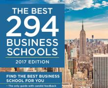 "Appalachian's Walker College of Business featured in Princeton Review's ""Best 294 Business Schools: 2017 Edition"""