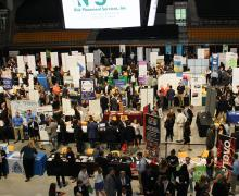 On September 20, approximately 1200 students attended Business Connections