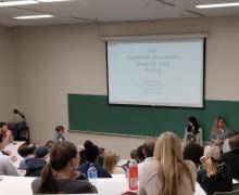 IMA members visit campus, interact with Appalachian Accountants members