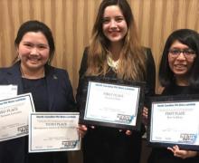 draft - Appalachian's Phi Beta Lambda students earn awards at state convention
