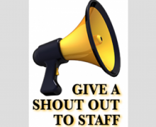 "Walker College staff members earn ""shout outs"" for service"