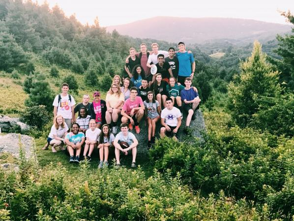 2017 MGSI participants on the Blue Ridge Parkway near the campus of Appalachian State University. Photo Credit: Josie Benfield