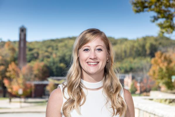 Sarah Freed '09 of Seattle was awarded the Appalachian State University's 2017 Young Alumni Award. The award honors individuals under age 40 for their exceptional service to the university and career accomplishments.