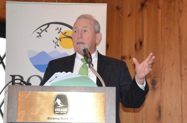 Harry Davis will speak at 3rd annual High Country Economic Kickoff Breakfast (Photo Watauga Democrat)