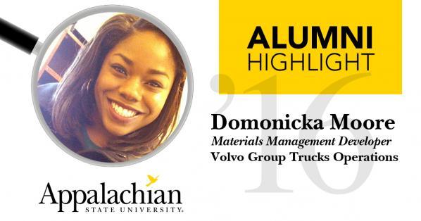 Alumni Highlight: Domonicka Moore
