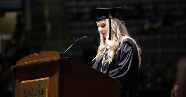 'Honoring, praising and congratulating' Appalachian's graduates at Fall 2018 Commencement