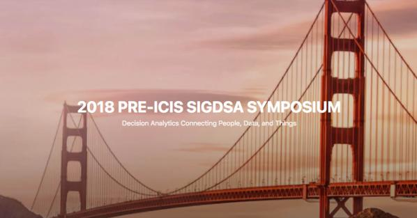 CIS professor to co-chair ICIS-SIGDSA conference on decision analytics
