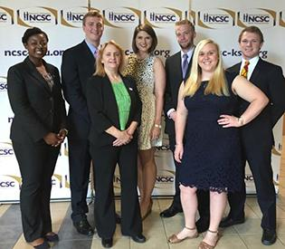 Appalachian State University students at National Collegiate Sales Competition