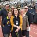 Pictured, from left, are Dr. Garner Dewey (College of Fine and Applied Arts), Dr. Melba Spooner (Reich College of Education), Dr. Marie Huff (Beaver College of Health Sciences), Dr. Heather Norris (Walker College of Business), Dr. Neva Specht (College of Arts and Sciences) and Dr. James Douthit (Hayes School of Music).