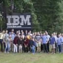 The 2017 AppLab cohort visited the IBM Design Studios in August to learn more about the Design Thinking process. Photo submitted by Richard Elaver