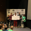 Appalachian students earn first place in 2018 Charlotte Hackathon (Photo by Pete Murphy)