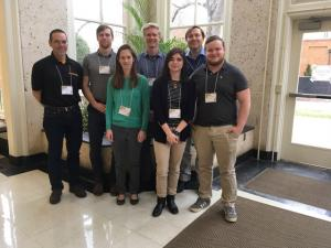 Appalachian State University students at the 2018 Southern Appalachian Honeybee Research Consortium