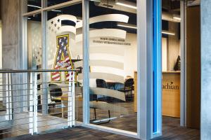 Appalachian State University made U.S. News & World Report's 2018 Best Colleges for Veterans listing. Pictured, the university's Student Veteran Resource Center. Photo by Troy Tuttle