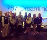 MBA students tour Boeing site in Charleston, SC during Executive Impact site visit