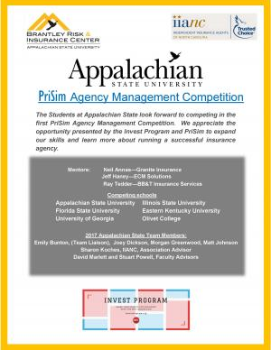 Appalachian business students to compete in national insurance simulation
