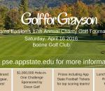 Pi Sigma Epsilon's Golf for Grayson