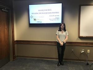 Appalachian State University Student Alisha Sprinkle at National Conference for Undergraduate Research