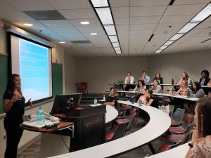 IOHRM students share internship experiences at Appalachian State University