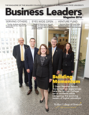 2016 Business Leaders magazine cover