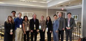Pictured, left to right, are Regina Hartley, Hoon Choi, Christopher Taylor, Lakshmi Iyer, Scott Hunsinger, Dawn Medlin, Sandra Vannoy, Charlie Chen, Ed Hassler, and Jason Xiong (Not pictured: Lewis Alexander and Steve Leon)