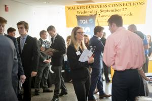 Appalachian State University's fifth annual Business Connections event was held September 27, 2017