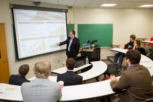 Steady enrollment growth, a dynamic curriculum, and a Walker College network for all alumni