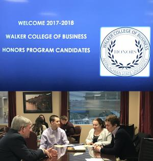Twenty three business student invited to join Walker College honors program