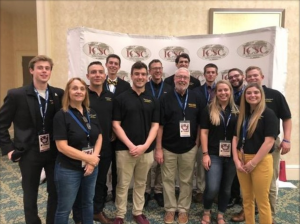 Marketing students compete in national collegiate sales competition