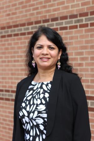 Lakshmi Iyer on the campus of Appalachian State University