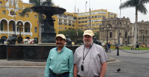 CISSCM Chair Dinesh Dave, left, and Marketing Chair Jim Stoddard attended the 34th Annual Pan-Pacific Business Conference May 29-31, 2017 in Lima, Peru.