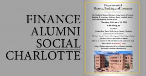 alumni social invitation