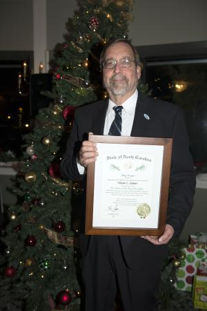 Appalachian alumnus Wayne Sumner, recipient of the Order of the Long Leaf award. Photo submitted