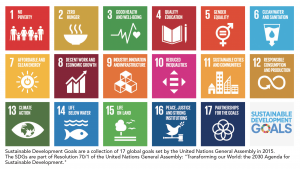 Sustainable Development Goals are a collection of 17 global goals set by the United Nations General Assembly in 2015. The Walker College of Business