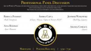 Walker College to host panel discussion in recognition of Women's History Month