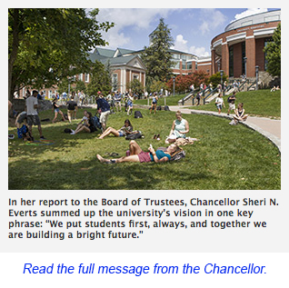 Message from the Chancellor