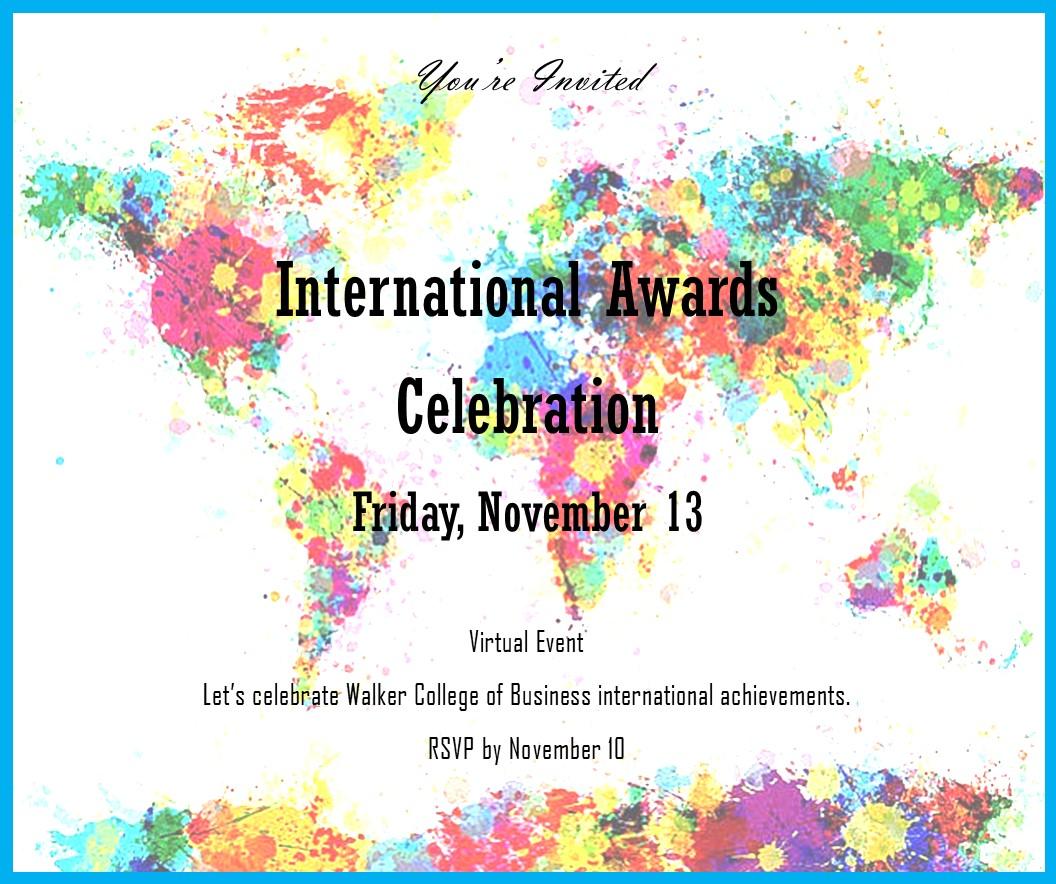 Awards Invitation November 13