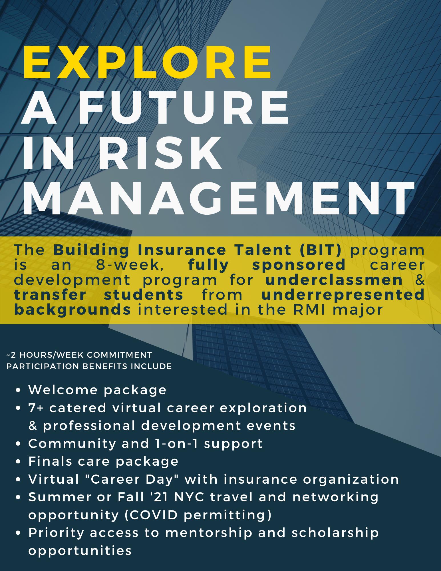 Building Insurance Talent Flyer