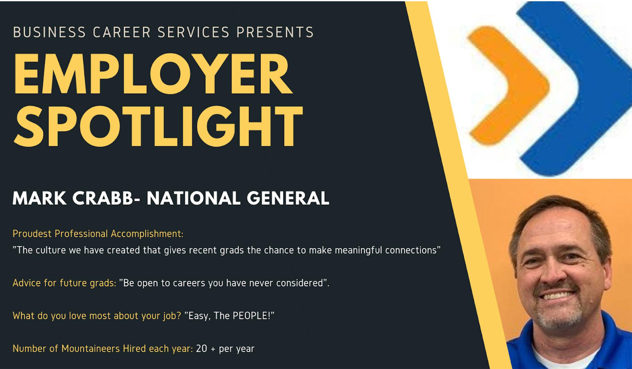 Employer Spotlight: Mark Crabb, National General